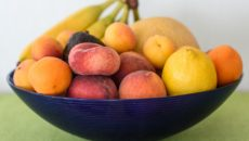 Vitamins Food Fruit Bowl Fruit Basket Frisch Fruit