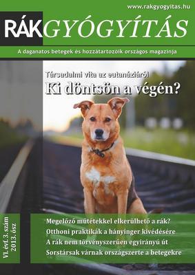 Rákgyógyítás Magazin 2013. ősz