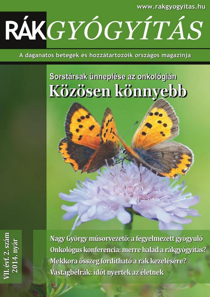 Rákgyógyítás Magazin - 2014. nyár