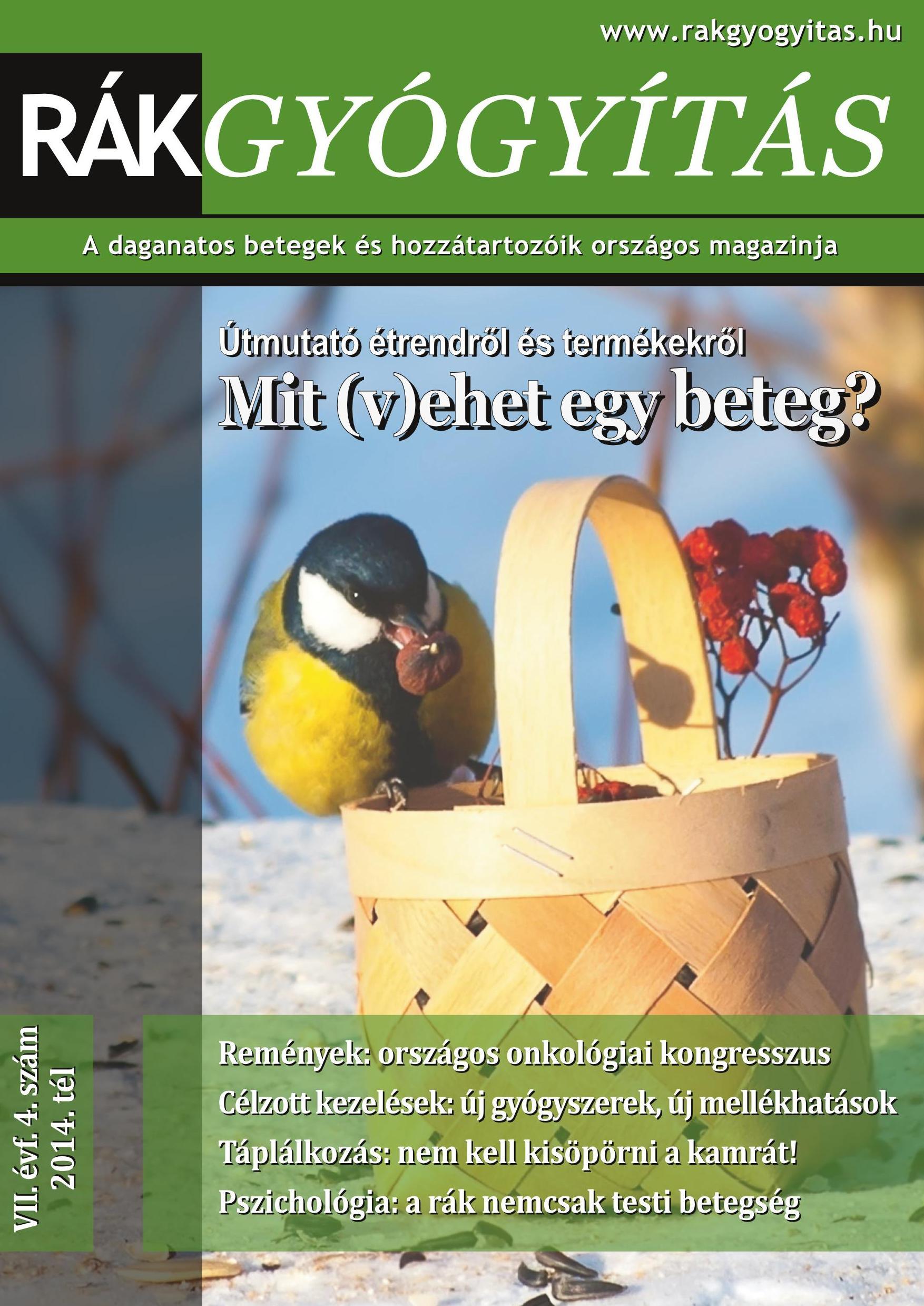 Rákgyógyítás Magazin - 2014. tél