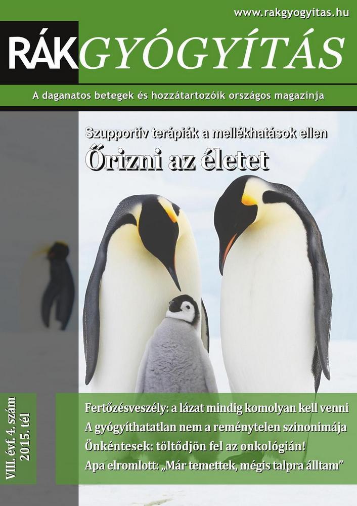 Rákgyógyítás Magazin - 2015. tél