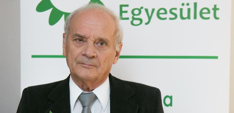 Lakos István, a Gyógyulj Velünk Egyesület elnöke
