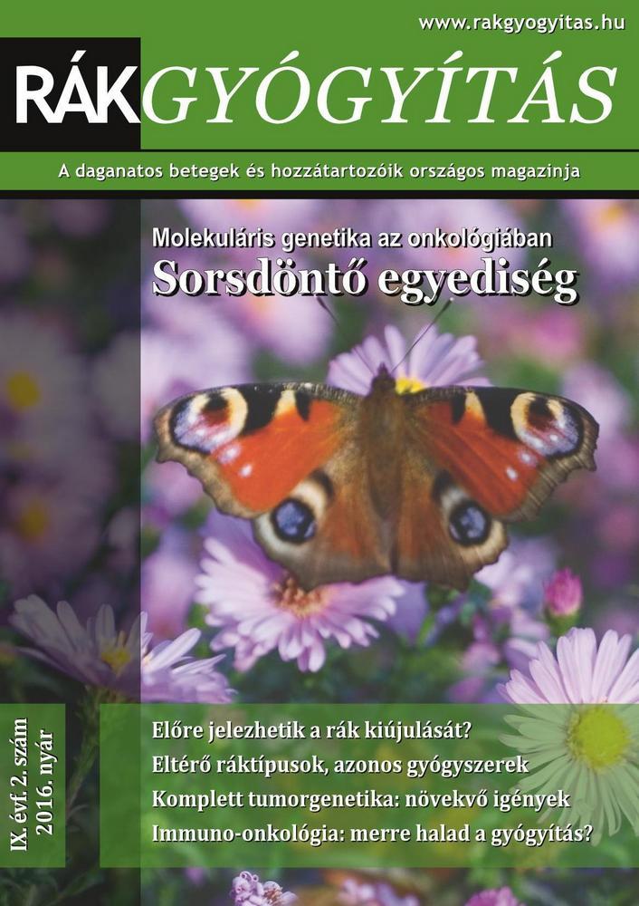 Rákgyógyítás Magazin, 2016. nyár