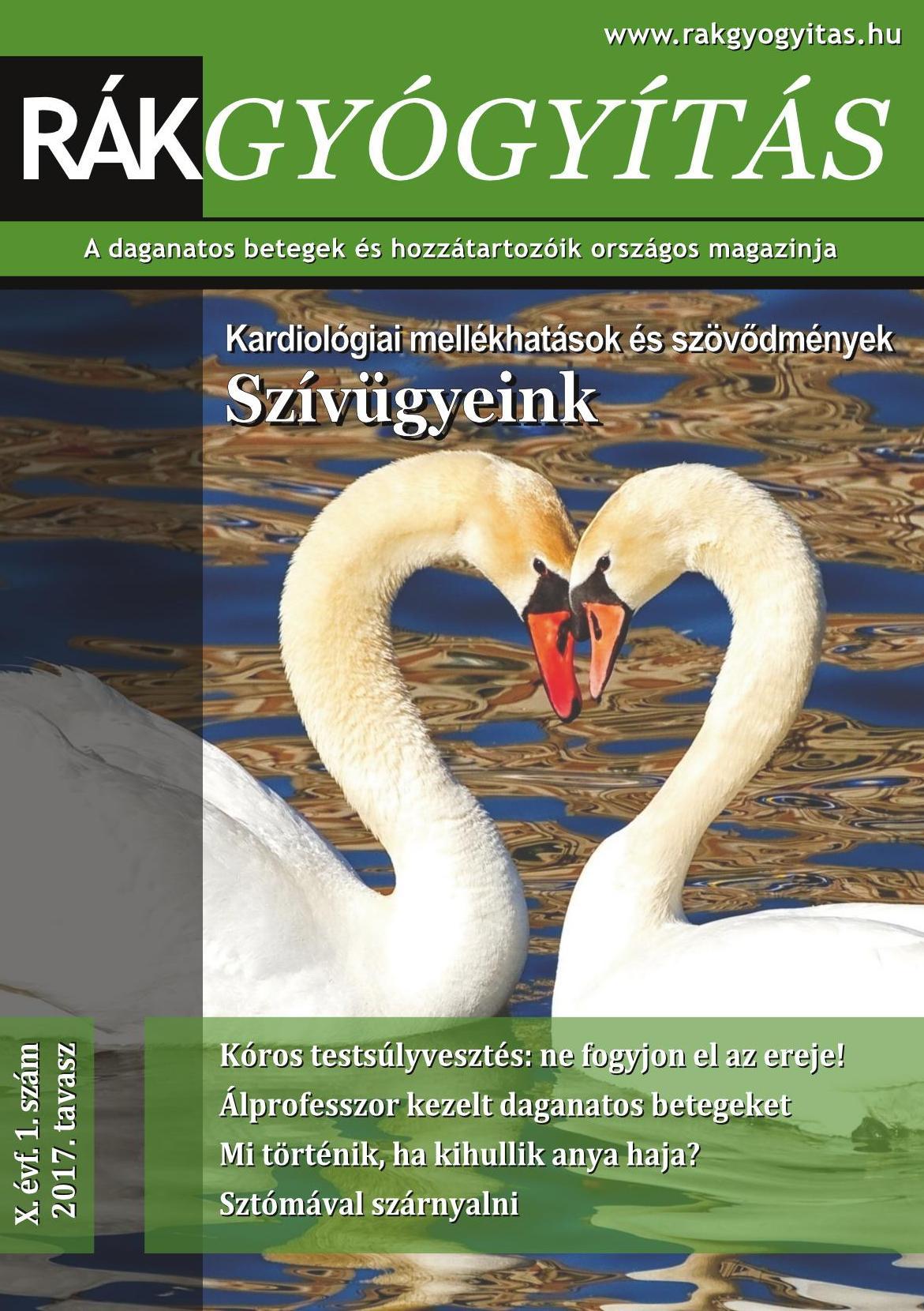 Rákgyógyítás Magazin 2017. tavasz