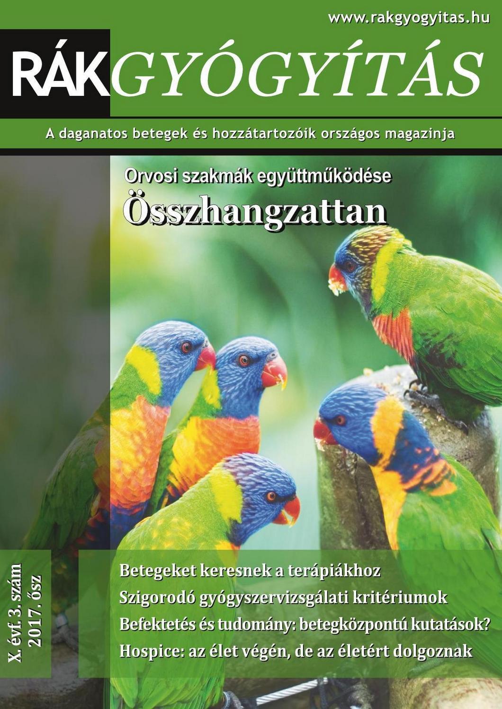 Rákgyógyítás Magazin 2017. ősz