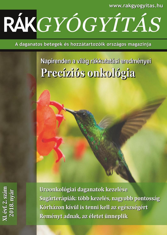 Rákgyógyítás Magazin 2018. nyár