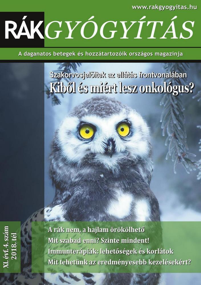 Rákgyógyítás Magazin 2018/tél