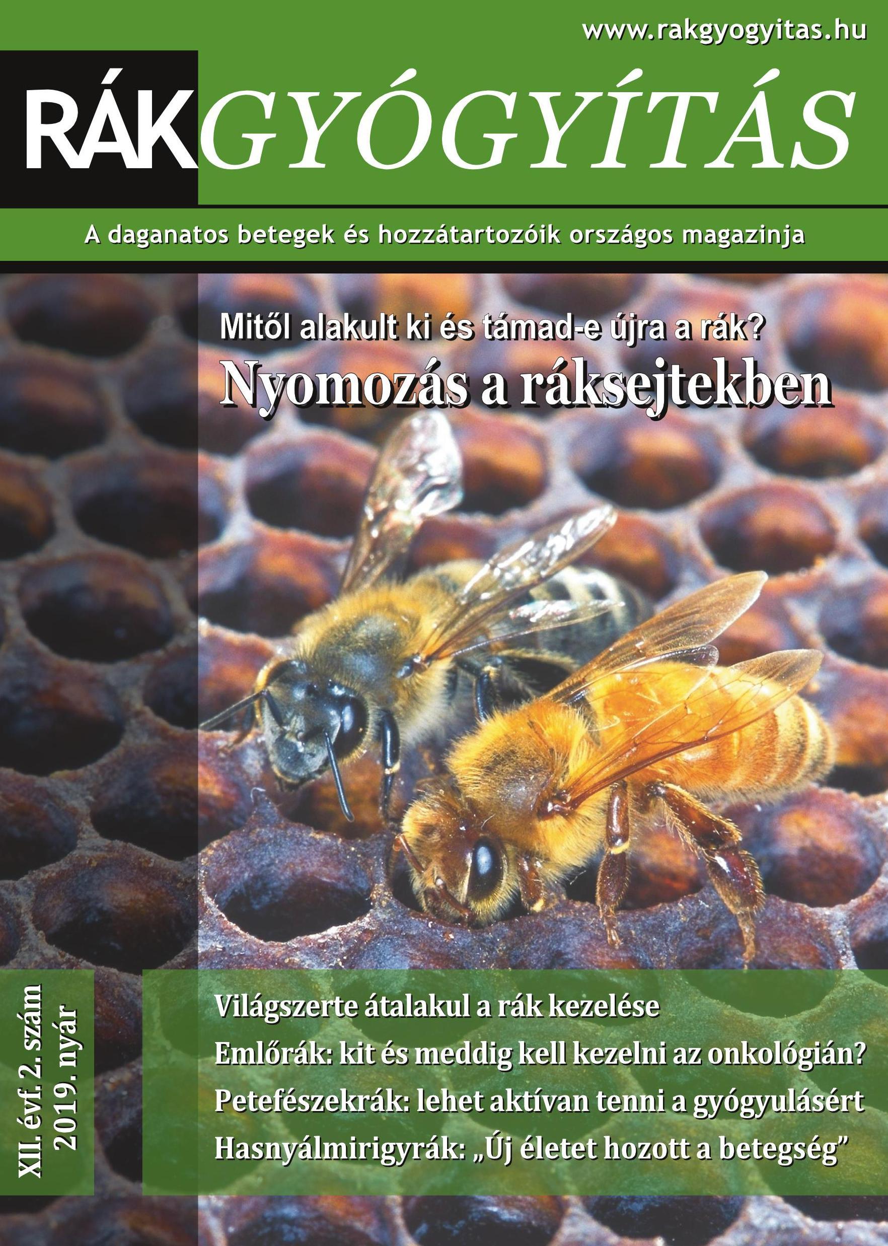 Rákgyógyítás Magazin 2019/nyár